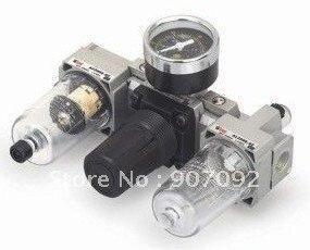 1/8'' AC Three Pieces Air Units SMC Air Filter Combination Triple Unit AC2000-01 стоимость