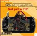 GPD Q9 Pantalla Táctil de 7 PULGADAS HD portátil de videojuegos construido en 2576 modelos de Juegos Incorporados más software de reproducción de vídeo 2 GB + 16 GB