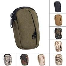 Охотничий рюкзак для повседневного использования, военная функциональная камуфляжная сумка, маленькая практичная сумка для монет, Военная Тактическая Сумка, походная сумка