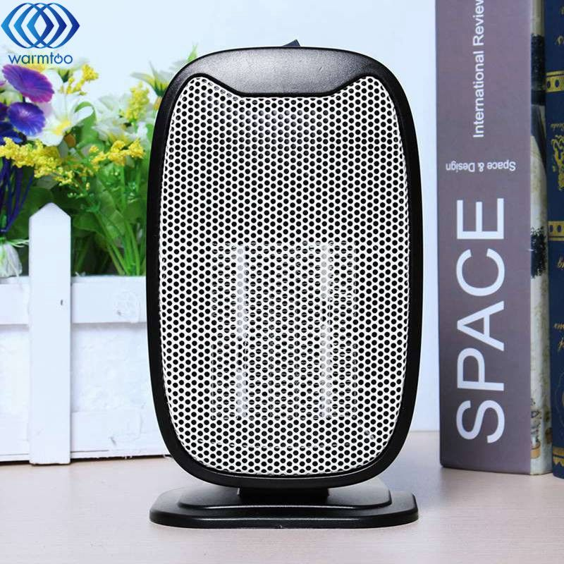 Electric Heater Mini Heater Home Office Desktop Air Heater Ceramic Space Heating Constant Temperature Overheating Power-off 220V warm air heater heating appliance home bathroom energy saving office desktop mini electric