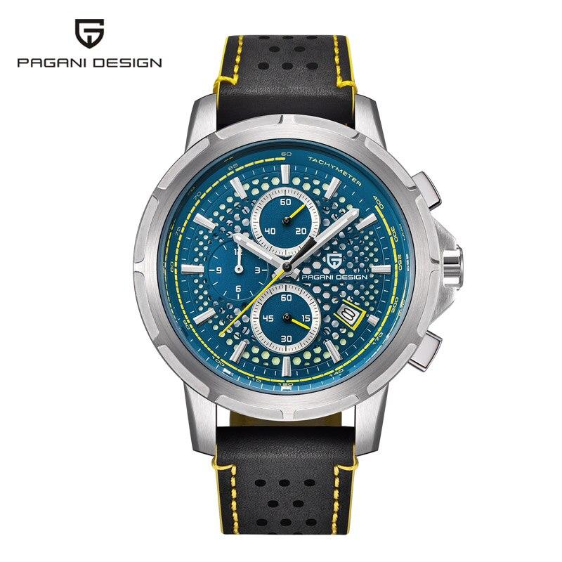 Luxury brand PAGANI DESIGN Business Men s Quartz Watch Depth Waterproof Design Casual Fashion Men s