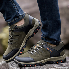 2019 New Arrival Shoes Men Sneakers Men Hiking Shoes Lace Up Casual Shoes Men Shoes Breathable Outdoor Jogging Trekking Sneakers