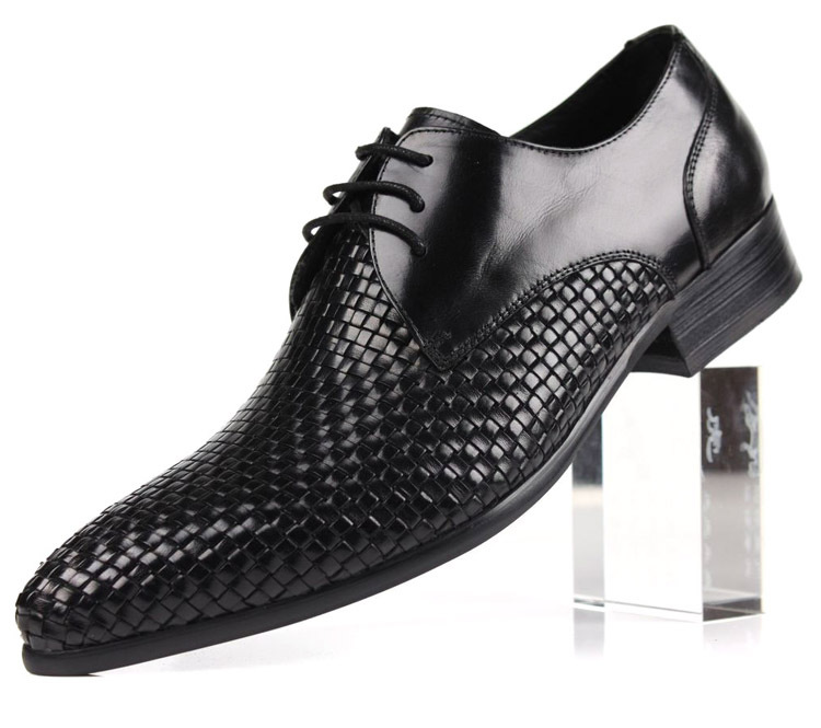 Mens Woven Leather Shoes For Sale