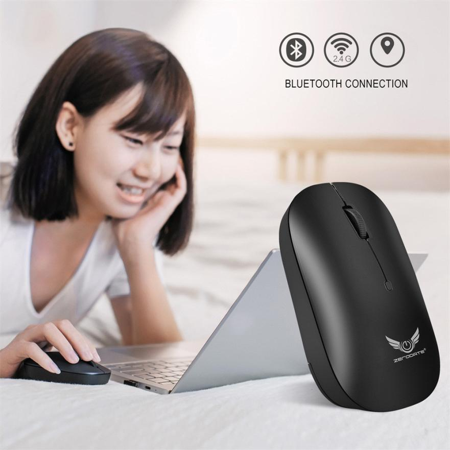 Mosunx Wireless Mouse Bluetooth 3 0 Mini Optical Gaming Mouse Mice For Macbook for iphone X