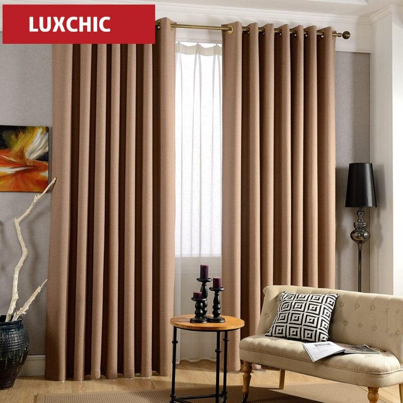 japon solide linge de couleur sentiment blackout rideaux. Black Bedroom Furniture Sets. Home Design Ideas