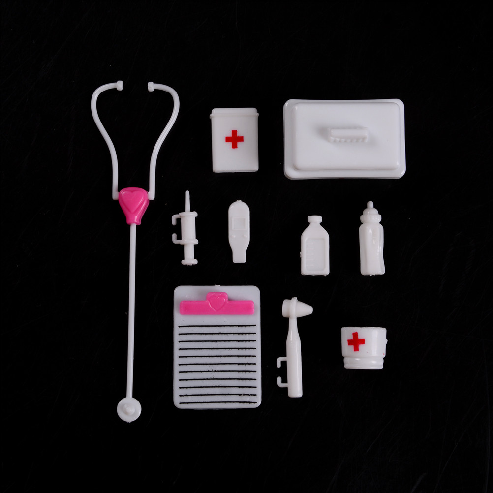 Nice Creative Doll Accessories Medical Supplies Doll Pet Toys Doctor/nurse Tools Two Pet Doll Baby Toys Gift Doll House Decoration Pure And Mild Flavor Toys & Hobbies