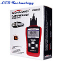 Hot Sale KONNWEI KW809 Multifunction Car Bus Auto Vechicle Diagnostic Scanner Tester OBD2/EOBD Code Card Reader Reading Decoder