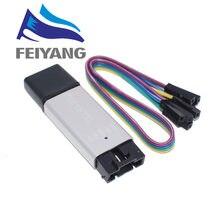 Convertisseur de série 5 broches, coque en aluminium CP2102 USB 2.0 à TTL UART Module STC remplacer FT232 Module support 5v/3.3v 10 pièces