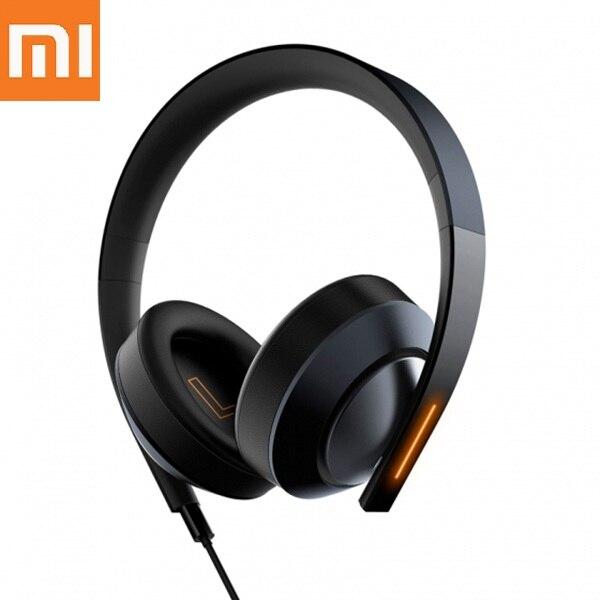 Nouveau casque d'origine Xiao mi mi Ga mi ng 7.1 casque de son Surround virtuel avec lumière LED contrôle du Volume d'annulation du bruit