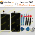 LCD Screen for Lenovo S60 New High Quality LCD Display +Touch Screen Assembly Replacement Screen For Lenovo S60/S60W Smartphone