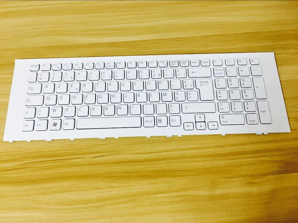 New  notebook laptop keyboard for SONY PCG-71511M VAIO VPC-EF(17.3) FRENCH/BELGIAN layout free shipping new laptop keyboard for sony ca26ec ca27ec ca28ec ca2s1c ca2s2c ca2s3c