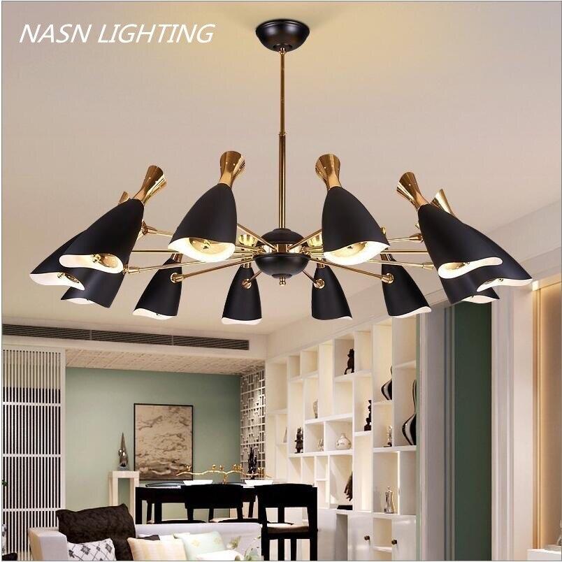 Modern Delightfull Duke Pendant Lights Lamp Nordic Suspension Lighting Fixtures For Living room Hotel Showroom <font><b>Led</b></font> <font><b>Lustres</b></font>