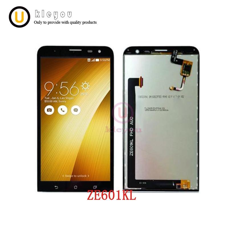 """Blcak 6,0 """"для Asus ZenFone 2 Laser ZE601KL 601KL Z011D ЖК-дисплей Дисплей + Сенсорный экран Панель планшета аксессуары запасные части"""