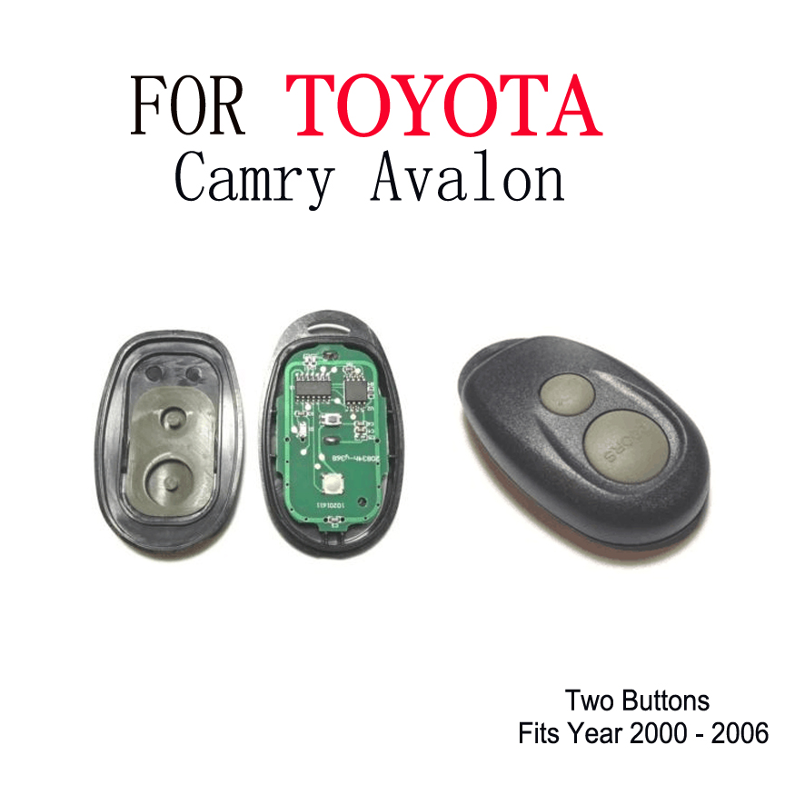 FOR  Toyota car remote fits Toyota Camry Avalon complete Remote  FOR  Toyota car remote fits Toyota Camry Avalon complete Remote