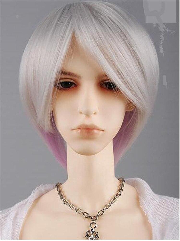 corto gris de pelo de corte para muecas sinttico de moda headwear fibra ms nuevo de