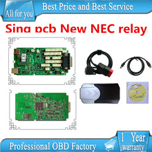 A+ quality Single pcb with New NEC relay 2015.1 free active TCS CDP PRO PLUS new vci cdp pro with bluetooth
