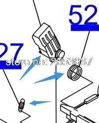 Pièces assemblées pour Epson T50 T60 P50 R260 R265 R330 R270 R280 R290 R380 R390 L800 L801 L805 L810 L850 Pince à ressort pour pompe