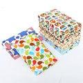 60x80cm 100% Cotton Baby Crib Stroller Pram TPU Waterproof Bed Nappy Changing Sheet Mat Cover Urine Pad Mattress SAD-4016