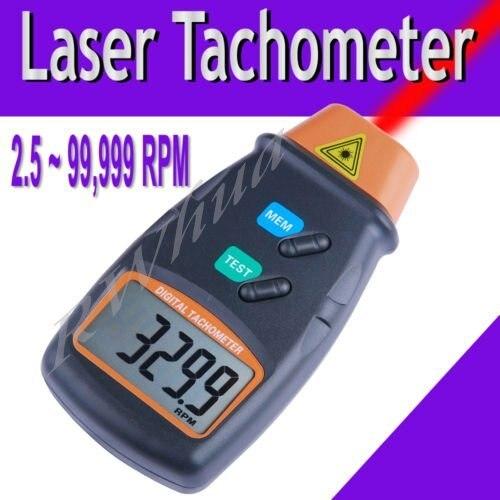 LCD 1pcs free shipping Digital Laser Tachometer 2.5-100000 RPM (DT-2234C+)