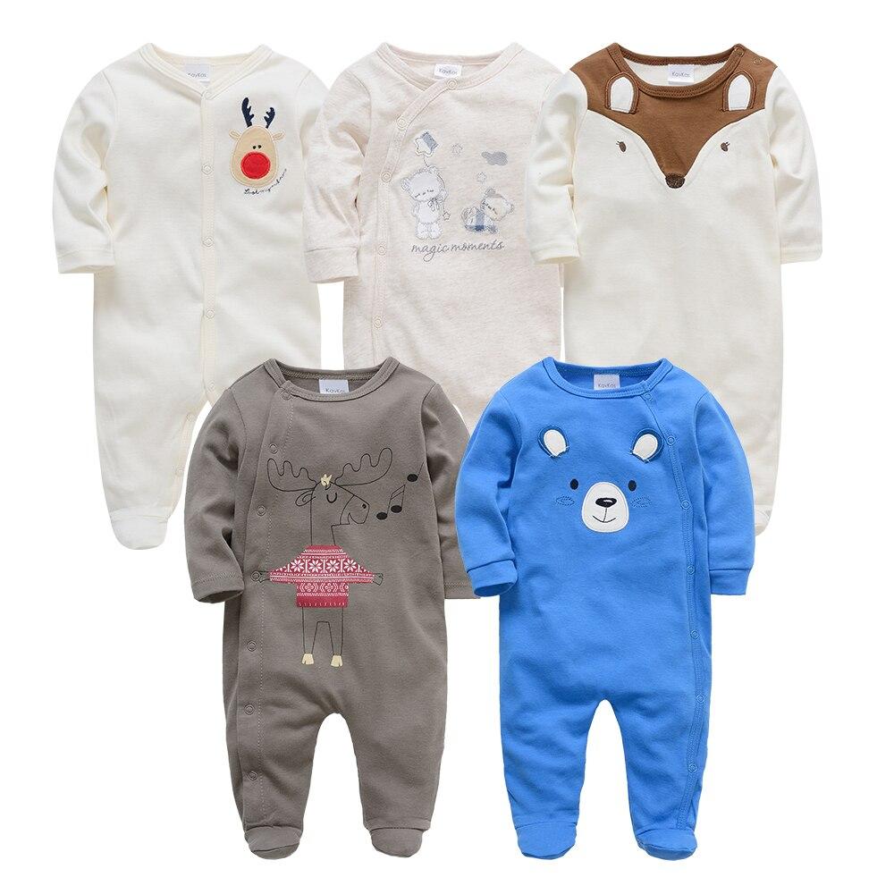 Kavkas Bebes Roupao De Banho Neugeborenen Kleid Baby Jungen Pyjamas Volle Hülse Nachtwäsche Set Baby Kleidung Sparen Sie 50-70% Mutter & Kinder Decke-schwellen
