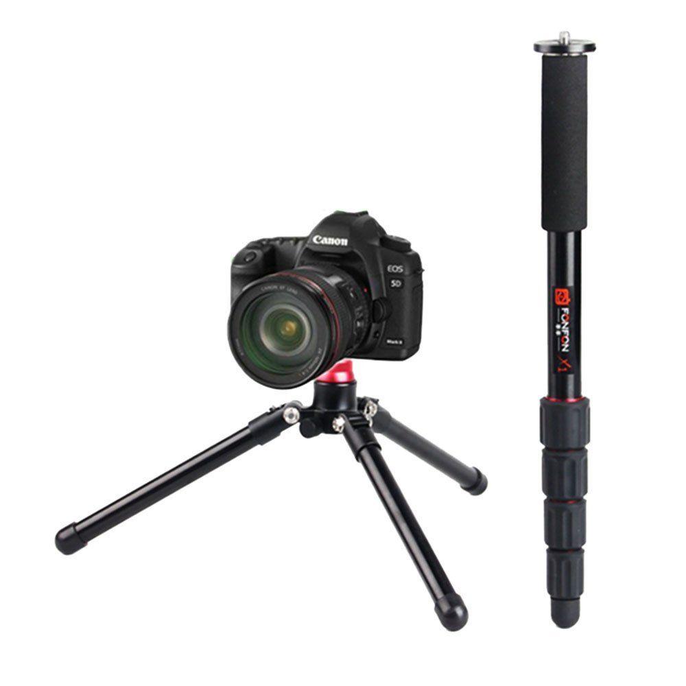 F330 support de Base monopode universel 3 pieds support Unipod pour appareil photo reflex numérique - 6