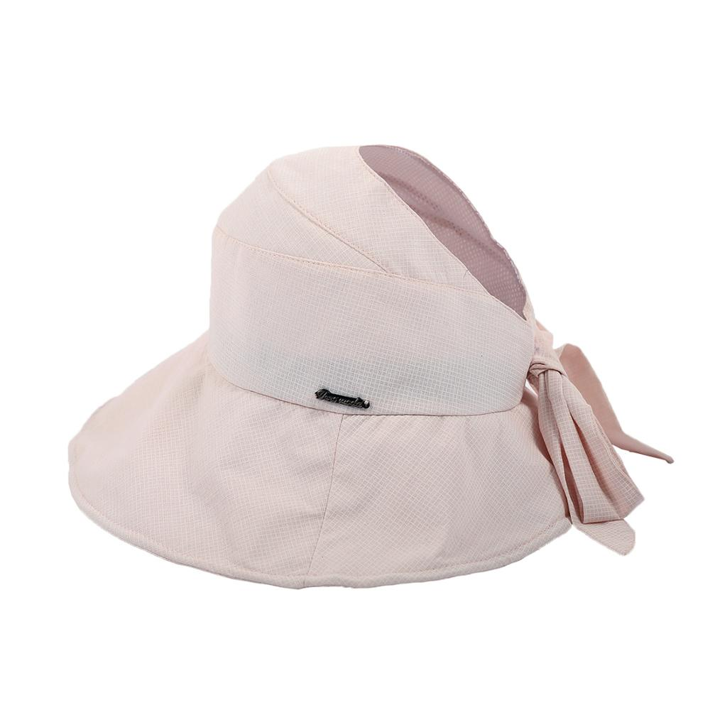 [FCY] hat female spring new sunscreen leisure fisherman tourist dome wild lattice empty top