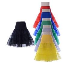 Короткая юбка из органзы кринолин винтажная Свадебная юбка для свадебных платьев Нижняя юбка-пачка в стиле рокабилли
