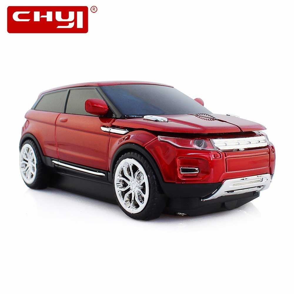 CHYI Wholesale Wireless Mouse Cool SUV Sport Car Mouse Gamer 1600DPI Optical Mice Computer Gaming Mause For PC Laptop Desktop