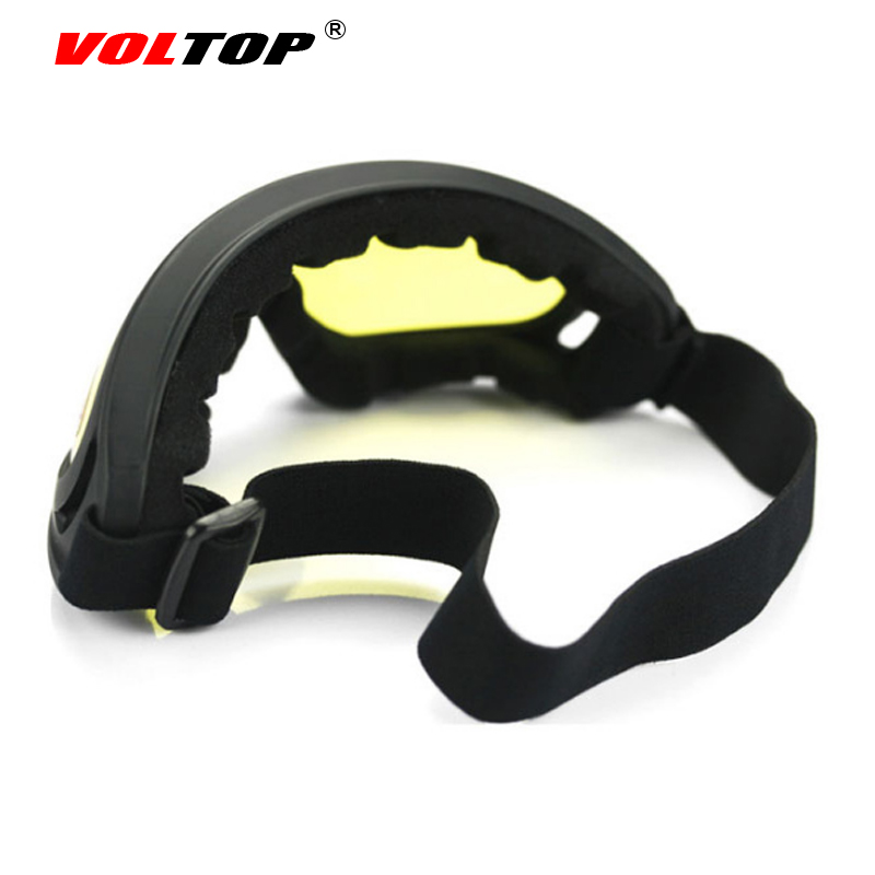 VOLTOP Motorcycle Glasses Windproof Dustproof Goggles Motor Bicycle Outdoor Riding Sunglasses For Sports Military Riot Control