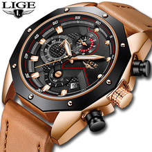 Fashion Men Watch Casual Luxury Brand Waterproof Quartz Watch Men Military Leather Sports Watches Man Clock Relogio Masculino new arrival curren watch fashion men quartz watch leather watch for man luxury alloy case leather band military watches relogio