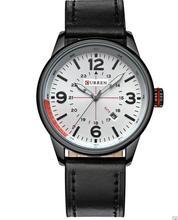 Relogio masculino Montre Homme Reloj Hombre Curren Moda Relógio de Quartzo Dos Homens Relógio de Couro Relógios De Pulso Das Mulheres Relógios Curren