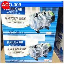 ACO-009 110L/мин 120 Вт кислорода Fish Tank воздушный насос 220 В переменного электромагнитного пруд-аэратор Пузырь аквариум воздушный компрессор