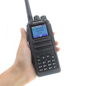 Image 4 - Новинка, Двухрежимная аналоговая и цифровая рация launch DMR Baofeng, стандартная Двухдиапазонная рация, 1 + 2 слота времени DM1701, Любительское двухдиапазонное радио
