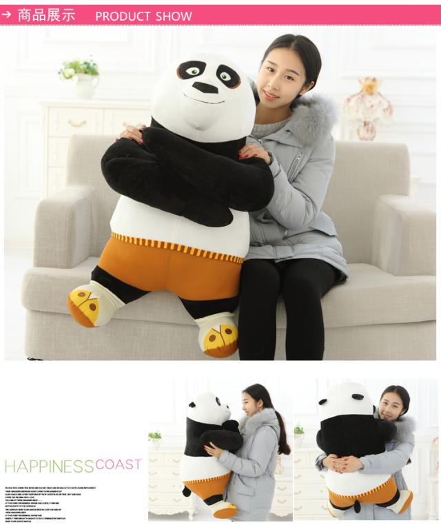 huge 80cm kongfu panda plush toy soft hugging pillow toy birthday gift h677 wedding bridal headpieces jewelry rhinestone crystal pearl zircon tiara crown headband