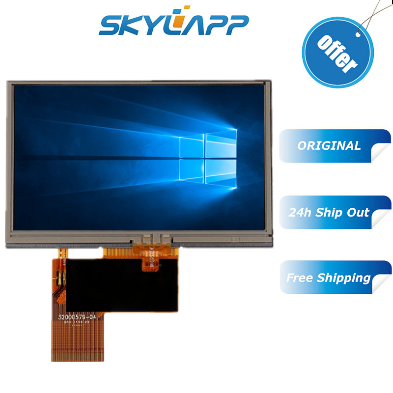 Original 4.3''inch LCD for KD43G18 40NB A1 KD43G18 40NB A5 C430P T43P12 MP5  GPS TFT LCD Inside Display Screen with touch screen|AC/DC Adapters| -  AliExpress