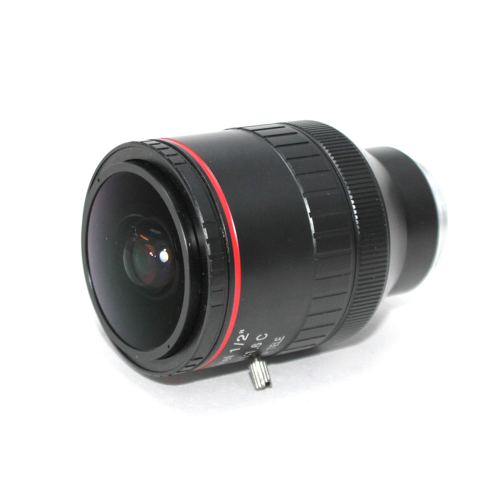 """Image 4 - 3Mega Pixel F1.6 HD 2.8 12mm CCTV lens C Mount Manual Varifocal Focal IR 1/2"""" 1:1.6 for Security CCTV Camera IP Camera-in CCTV Parts from Security & Protection"""