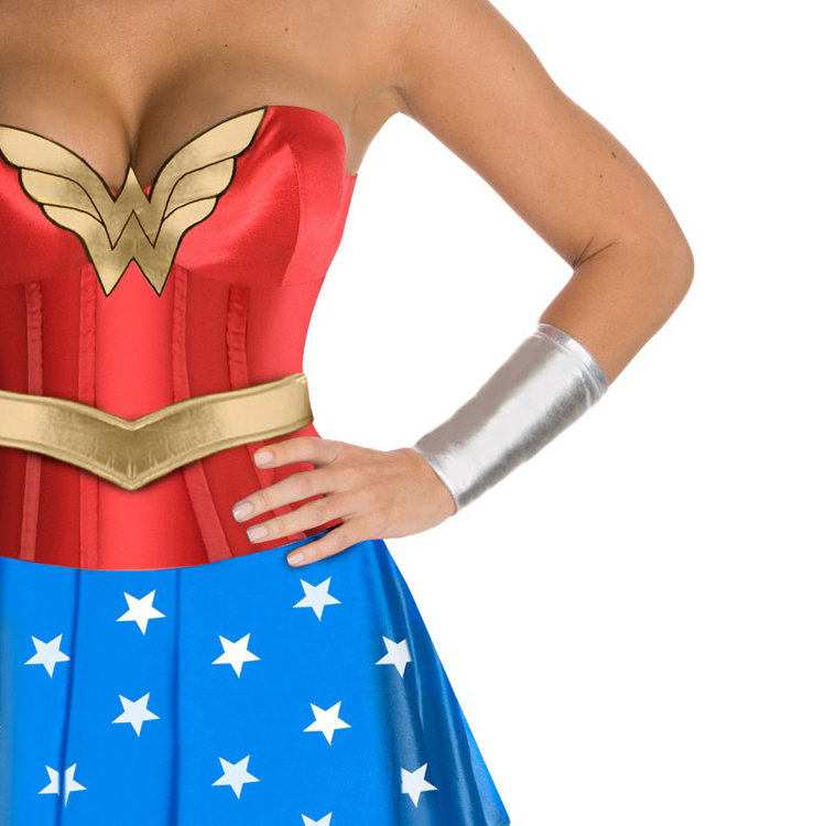 Wonder Woman Corset Costume-3189
