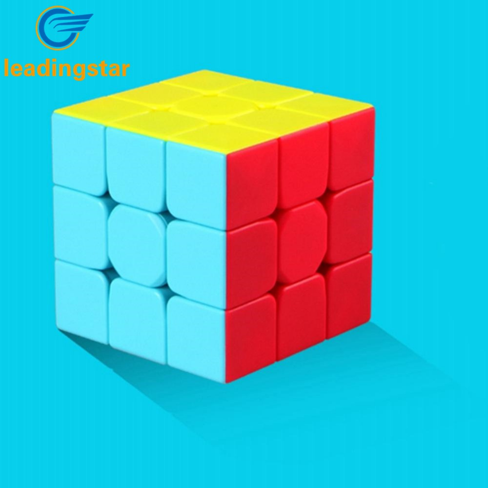 LeadingStar Professional Cube 3x3x3 5.6CM Speed For Magic Puzzle Cube Sticker Twist Toys For Children Education Toy Kids Gifts