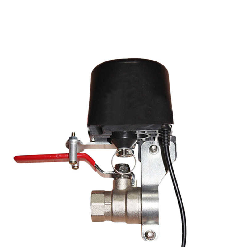Tuya Amazon Alexa Google Assistant IFTTT Smart Wireless Control Gas Water Valve Smart Life WiFi Shutoff Controller
