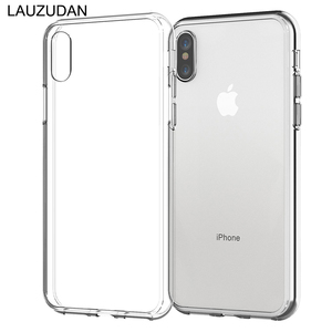 Clear Phone Case For iPhone 7 Case iPhone XR Case Silicon Soft Cover For iPhone 11 Pro XS Max X 8 7 6 s Plus 5 5s New SE 9 Case(China)