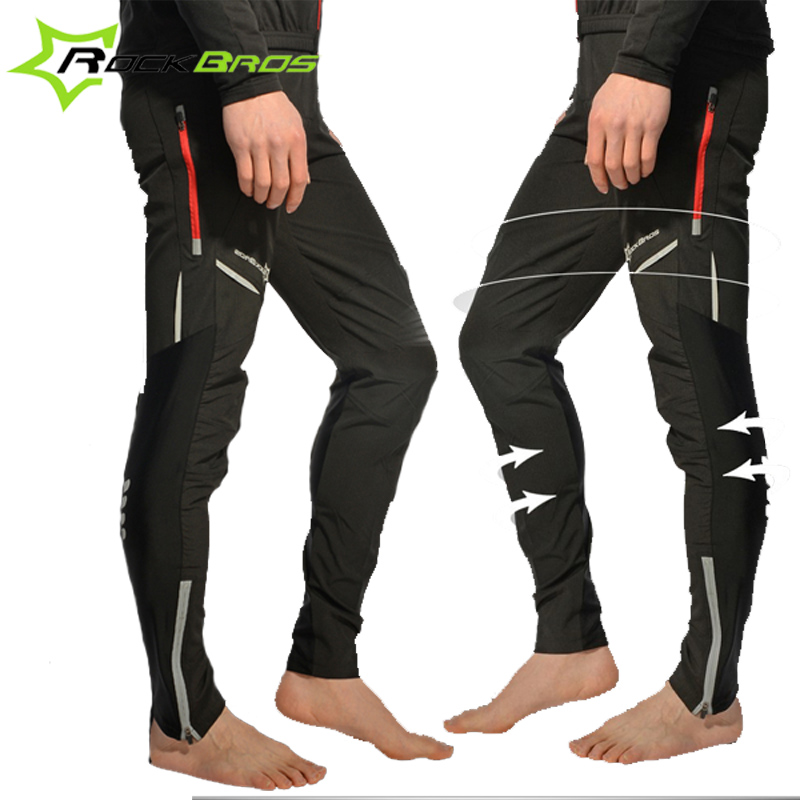 Rockbros Men & Women's Bike Pants Sportswear Cycling Pants Cycle Riding Clothing Bicycle Pants Bike Tight Long Casual Trousers