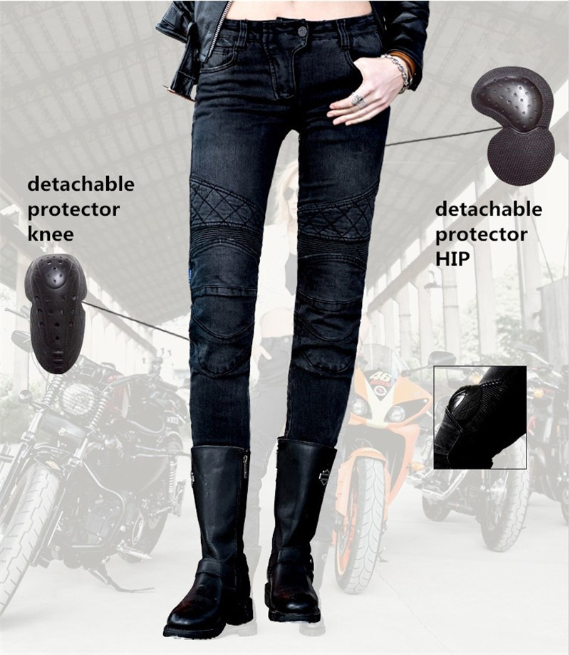 Free shipping 2017 Uglybros Guardian Ubp09 Straight jeans Motorcycle protective pants Women's moto pants Road riding pants free shipping 2017 uglybros straight casual jeans motorcycle protector pants men s moto pants racing pants with detachable prote
