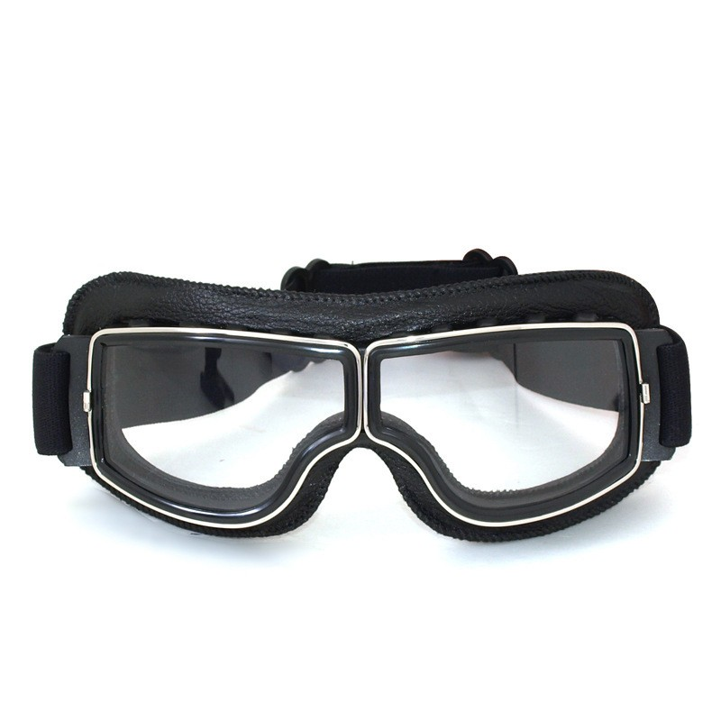 Outdoor Retro Harley Mask Goggles Motorcycle Helmet Riding Off-road Goggles Goggles wanke wk 11 outdoor motorcycle riding cool windproof goggles black transparent