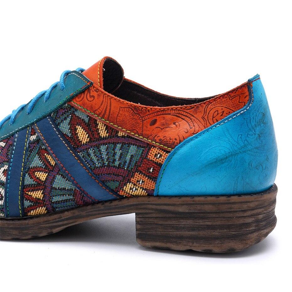 Deporte Encaje Las Damas Primavera Planos Zapatos Verano Q42 oxford Cuero Gran Casual Mujeres Tamaño Genuino Zapatillas Oxford De Vintage 18Cq7