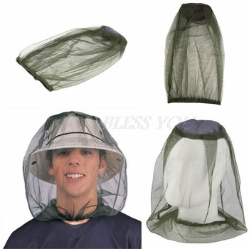 Face Mesh Mosquito Head Net