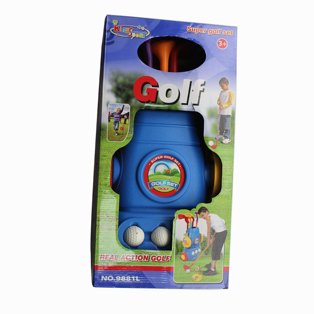 CRESTGOLF Multicolor Plastic Mini Golf Club Set Golf Toys For Children Kids  Indoor Outdoor Backyard Sports Game Golf Club Sets In Golf Clubs From  Sports ...