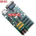 BX-5U1 USB & Serial port LED controller card 3200*16 2*HUB08 & 4*HUB12 Single & Dual color LED controller card