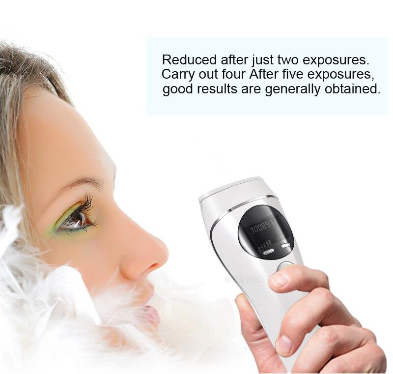 2019 removedor de cabelo a laser depilador