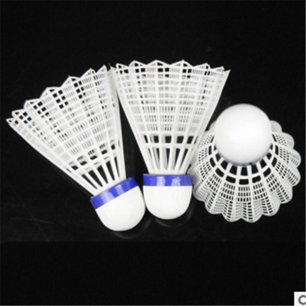 HobbyLane 6 Pcst Badminton Shuttlecocks Goose Feather Badminton Balls Outdoor Sports Badminton Accessories Durable Badminton - Цвет: 6pcs