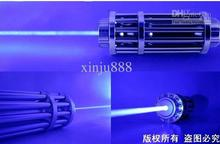 Strong power military blue laser pointers 50000mw 50W 450nm burning match/pop balloon/burn cigarettes+Free glasses+charger+ box new 8000mw 8w 445nm 450nm focusable burning blue laser pointers burn match pop balloon cigarettes gift box charger glasses